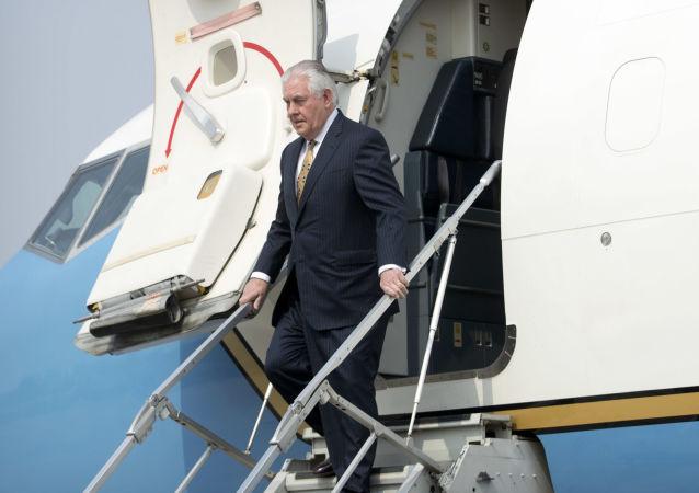 Ministr zahraničních věcí USA Rex Tillerson