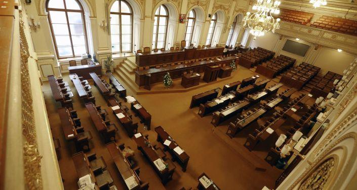 Český parlament v Praze