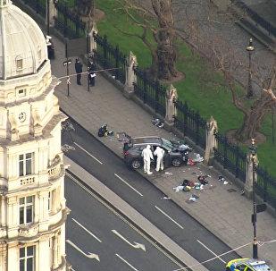 Záběry z místu teroristického útoku