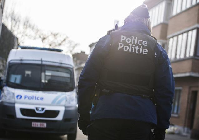 Belgická policie. Ilustrační foto