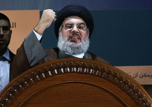 Vůdce militantní šíitské organizace Hizballáh Hasan Nasralláh