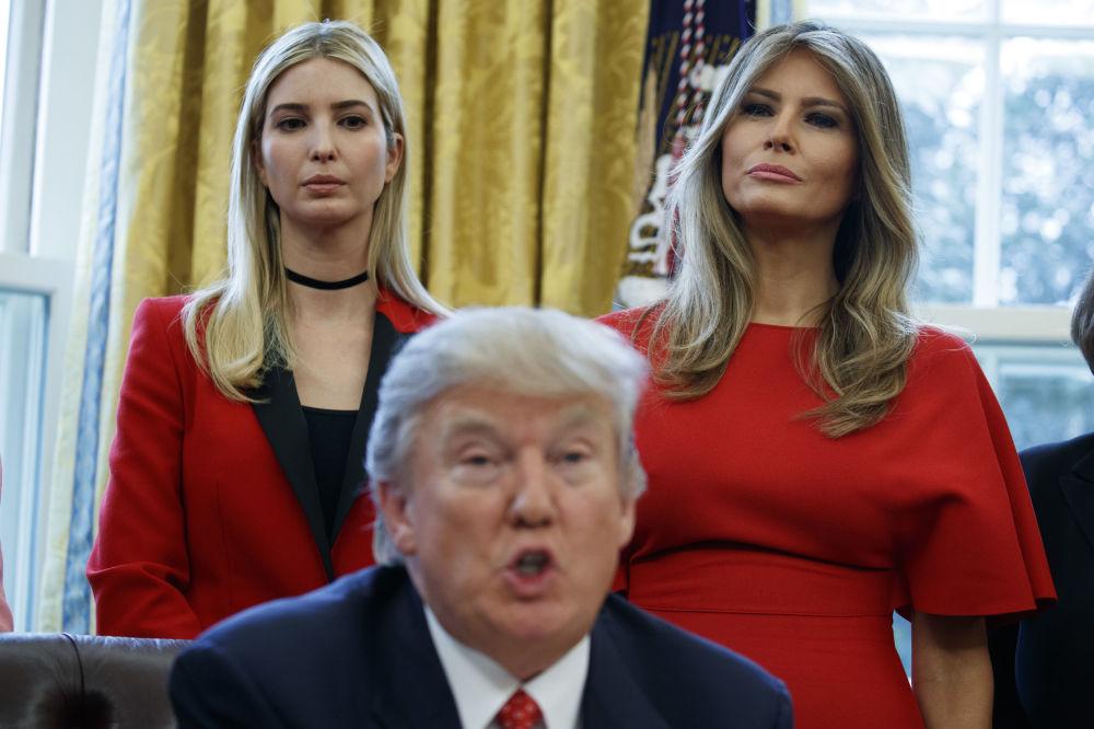 Ivanka Trumpová po prezidentově inauguraci