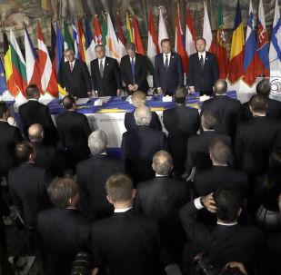 Summit EU v Římě