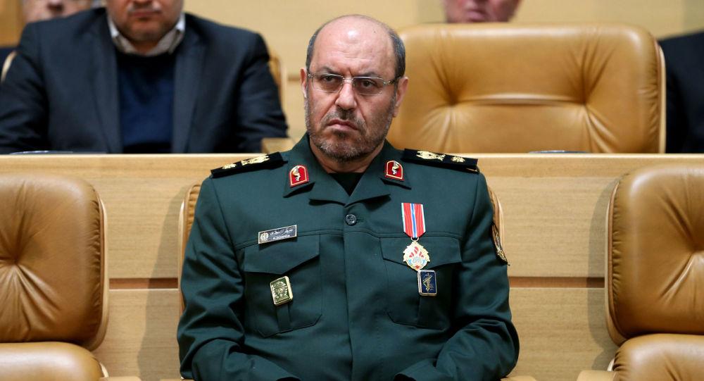 Íránský ministr obrany Hossein Dehghan
