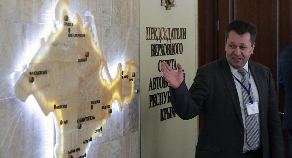 Andreas Maurer na Krymu