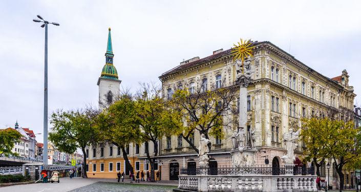 Hlavní náměstí v Bratislavě