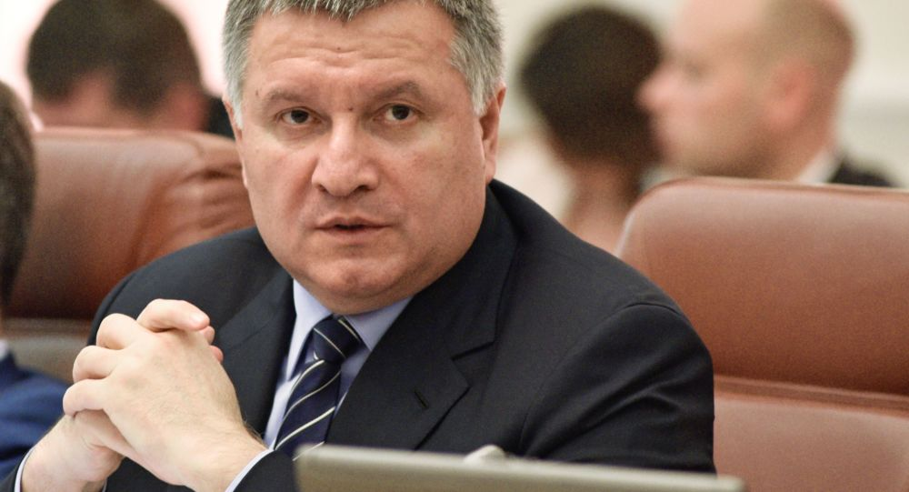 Ukrajinský ministr vnitra Arsen Avakov