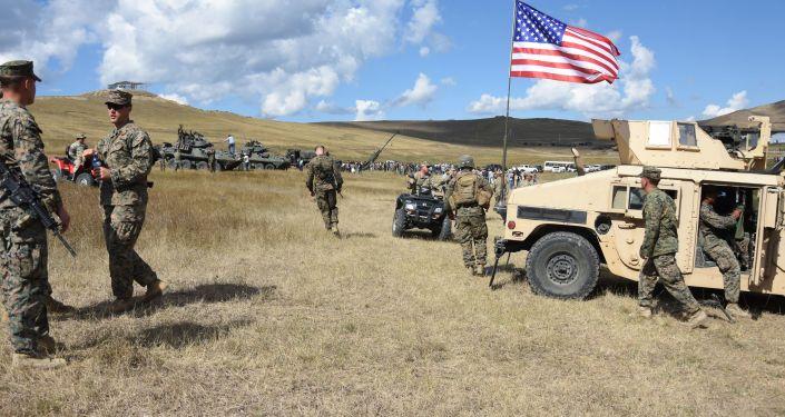 Vojáci NATO v Gruzii