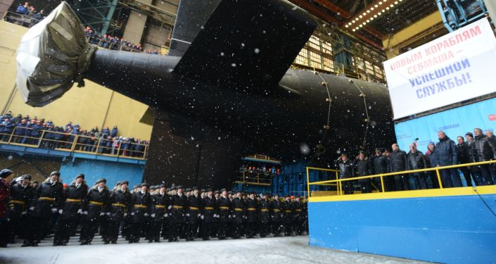 Jaderná ponorka Kazaň byla spuštěna na vodu