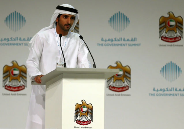 Korunní princ a syn dubajského emíra Hamdán ibn Muhammad Al Maktúm