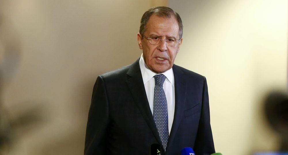 Ministr zahraničí Sergej Lavrov