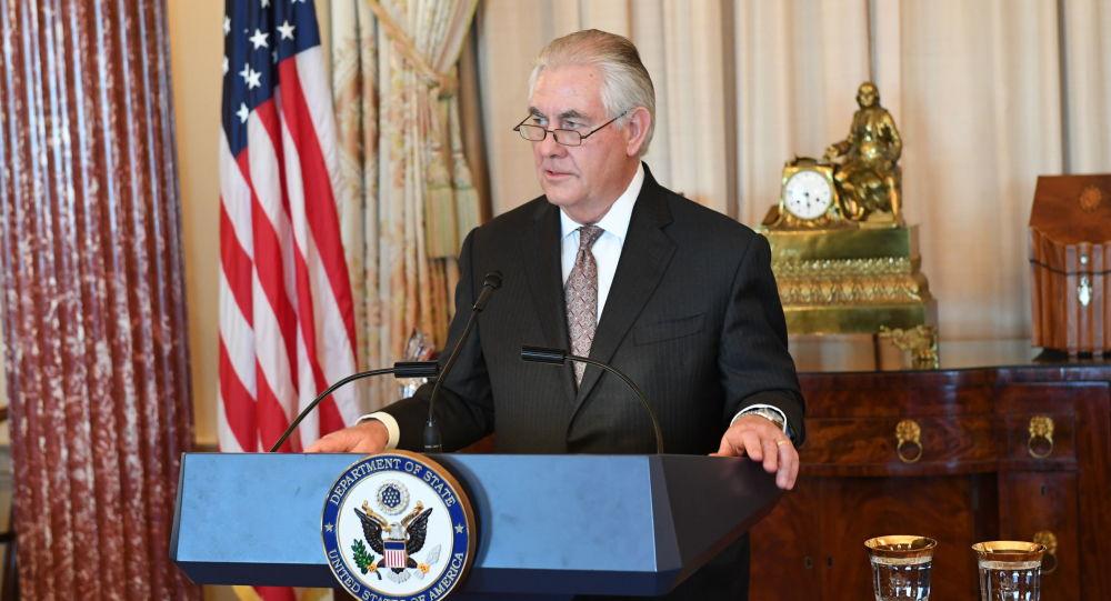 Ministr zahraničí USA Rex Tillerson