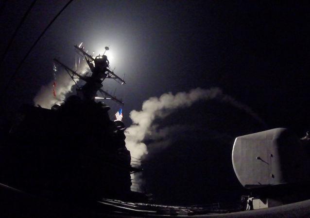 Útok USA na vojenskou základnu v Sýrii