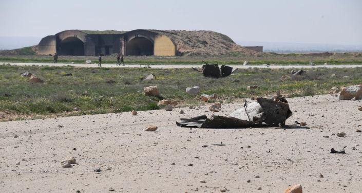 Následky útoku USA na letiště Šajrát