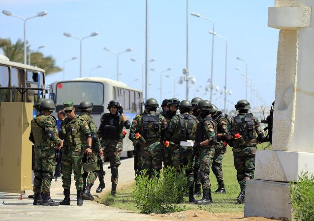Policie Egyptu. Archivní foto