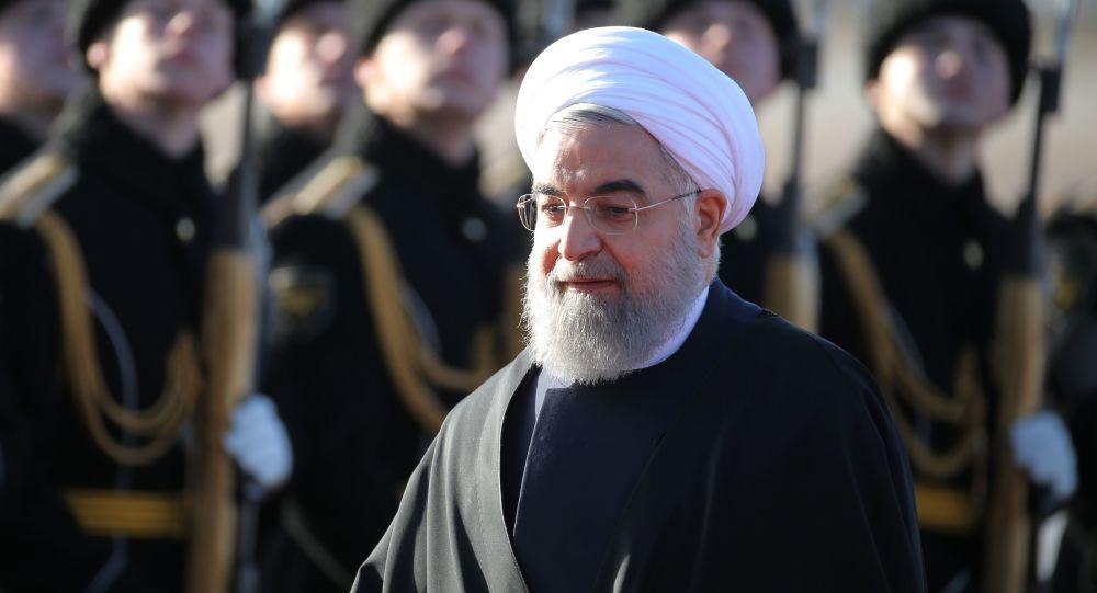 Íránský prezident Hasan Rúhání