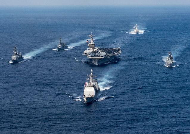 Vojenská námořní flotila USA