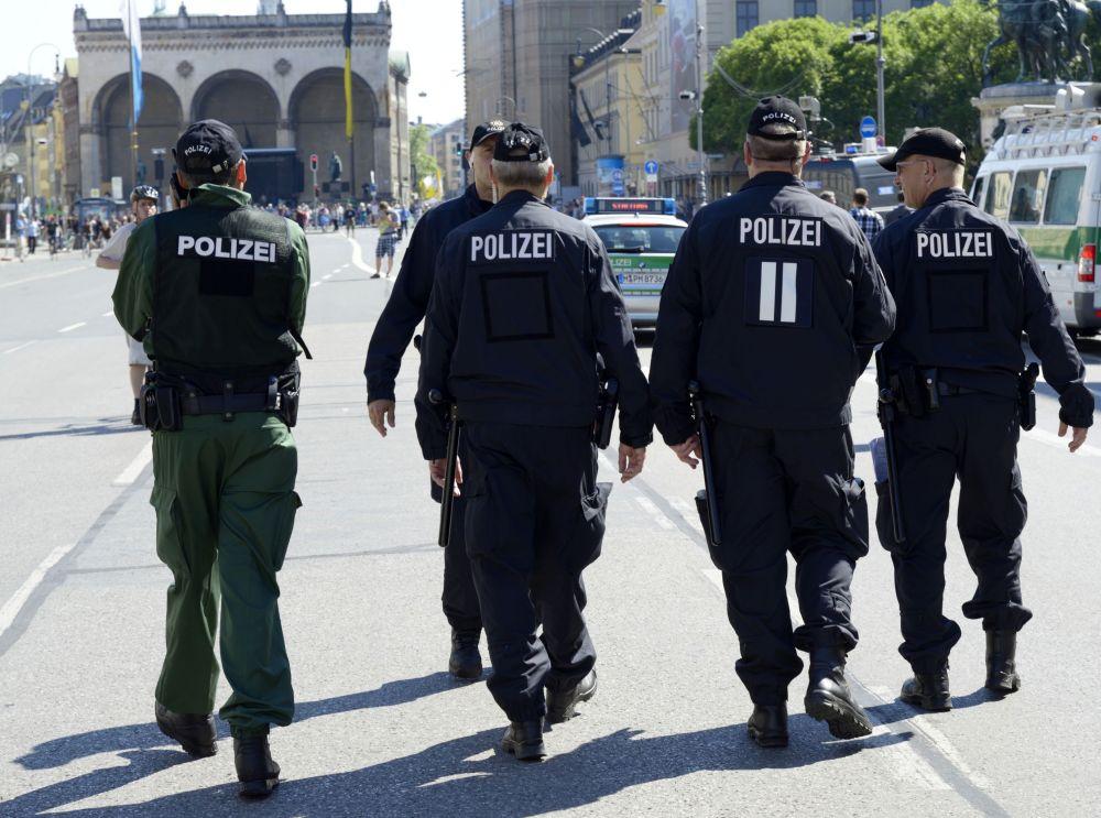 Protestní akce proti summitu G7 v Mnichově