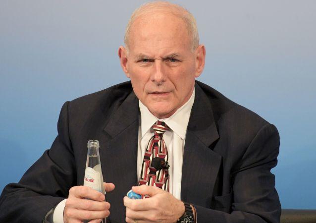Americký šéf Bílého domu John Kelly.