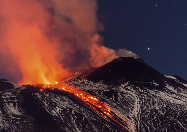Erupce vulkánu