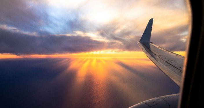 Pohled z okna letadla