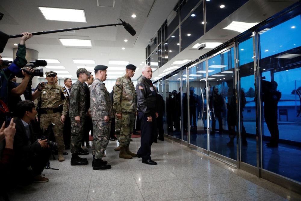 Penceho návštěva na Korejském poloostrově