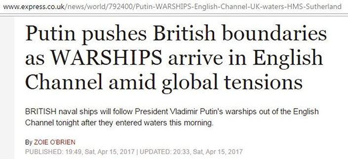 Screenshot portálu Daily Express