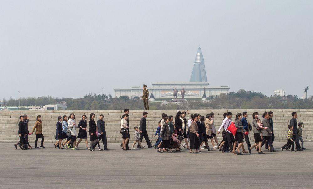 Všední den v Pchjongjangu