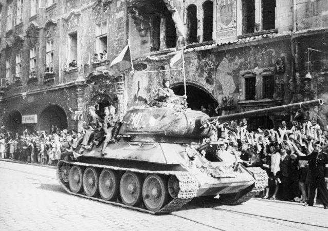 Osvobození Prahy, r. 1945