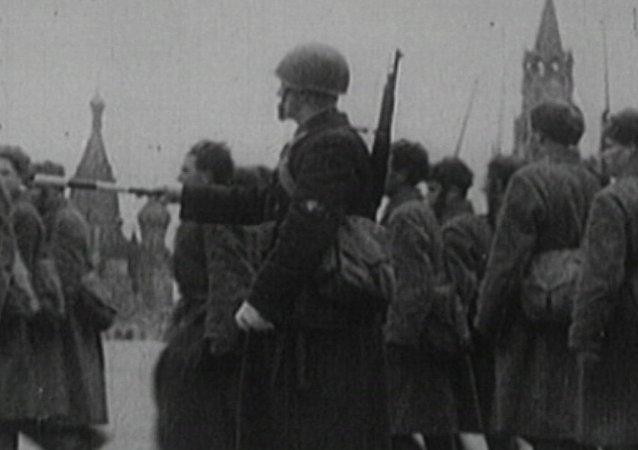 Archivní záběry. Bitva o Moskvu