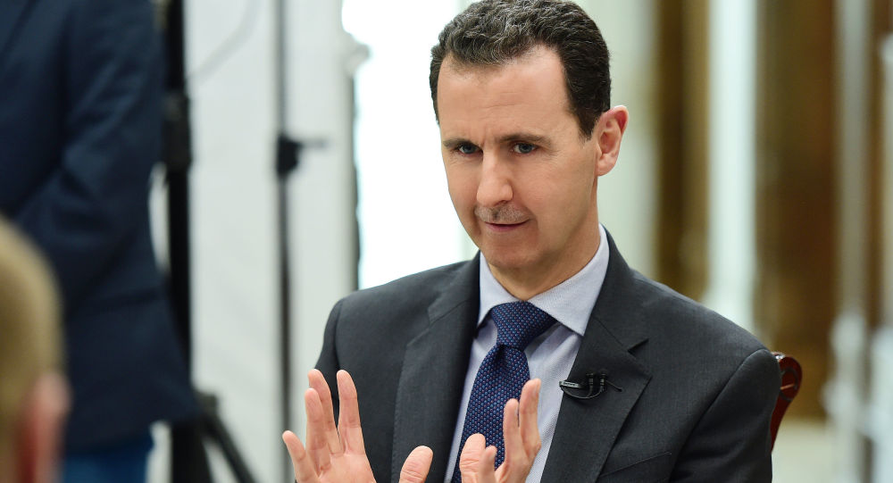 Prezident SAR Bašár Asad