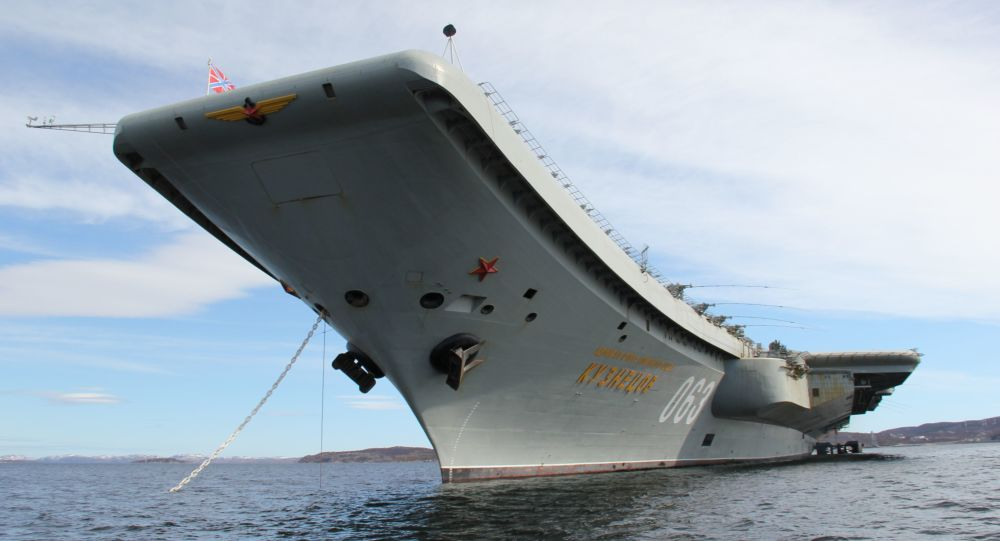 Admirál Kuzněcov v Severomorsku