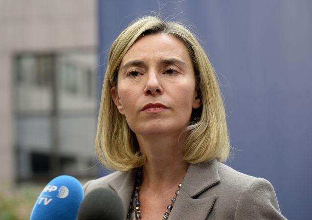 Zástupkyně EU pro zahraniční věci a bezpečnostní politiku Federica Mogheriniová