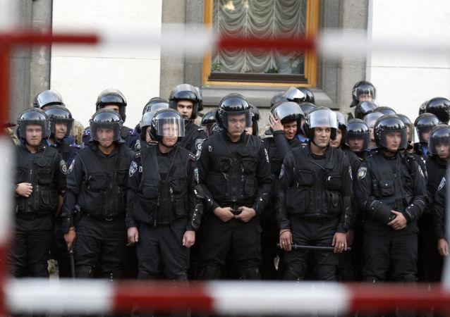Policie v Kyjevě