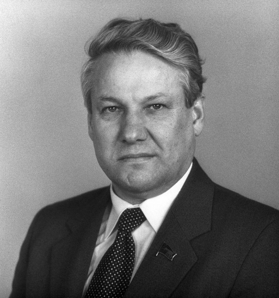 První prezident Ruské federace Boris Jelcin