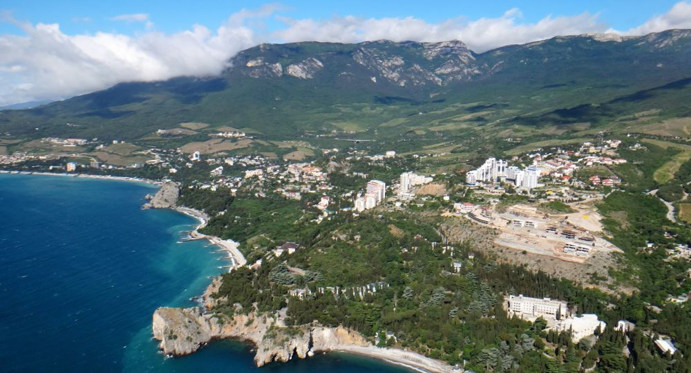 Pohled na krymské pobřeží