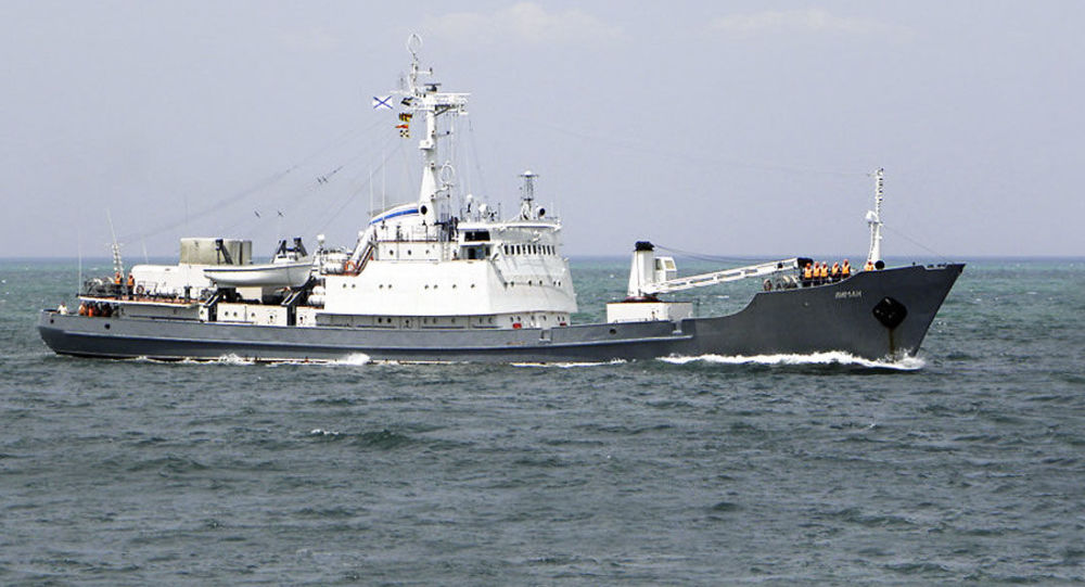 Výzkumná loď ruské Černomořské flotily Liman