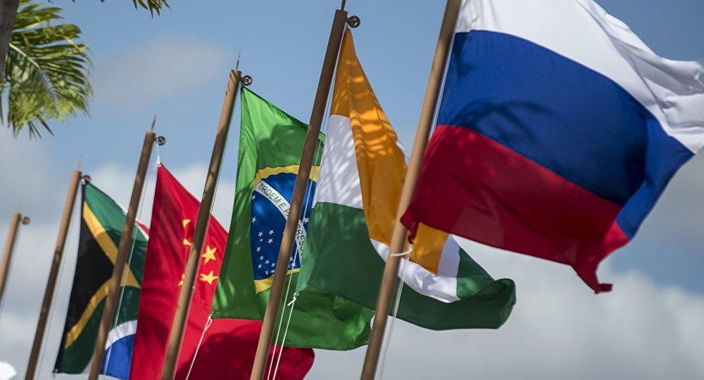 Vlajky států BRICS