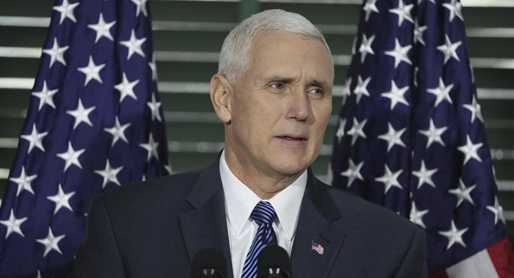 Americký viceprezident Mike Pence