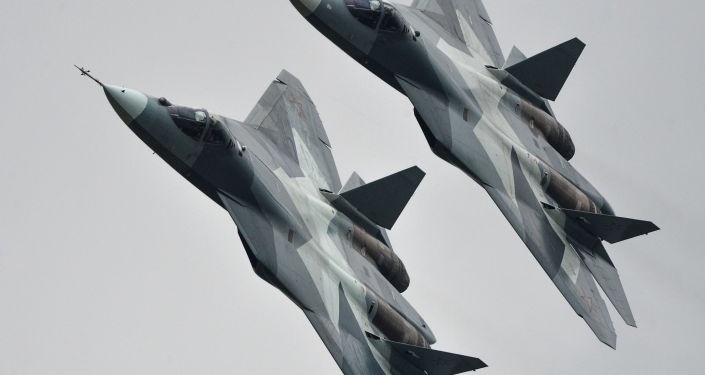 Stíhačky T-50