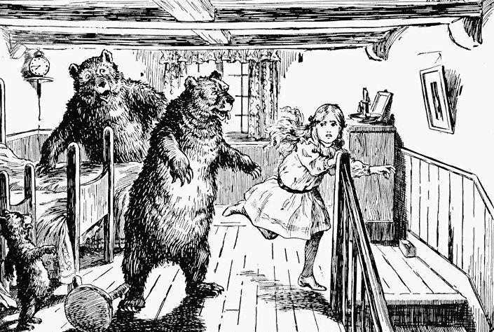 Pohádka Tři medvědi