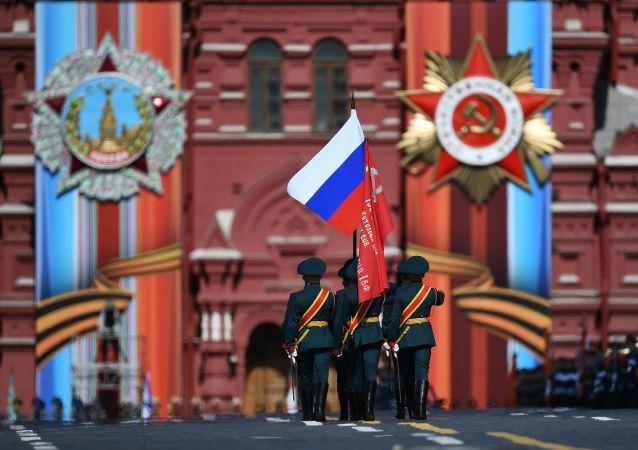 Generální zkouška Přehlídky vítězství v Moskvě