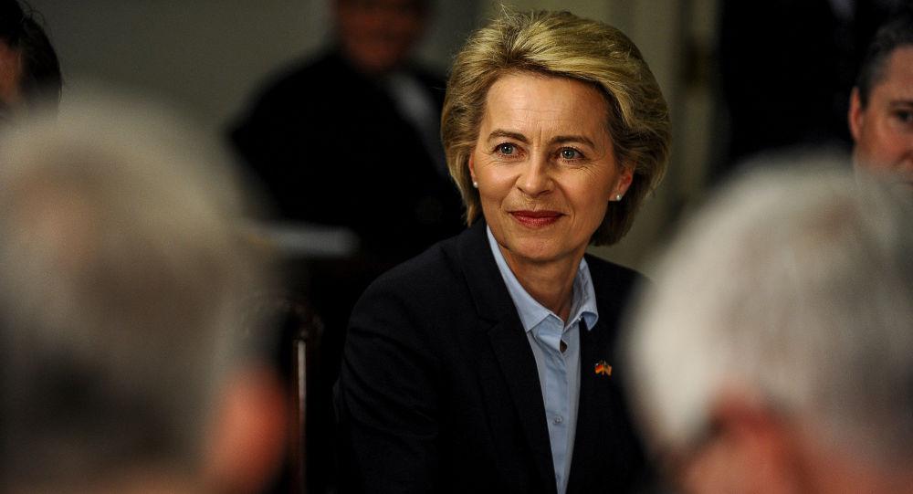 Německá ministryně obrany a kandidátka na post Evropské komise Ursula von der Leyenová.