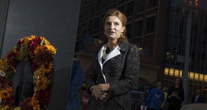 Manželka ukrajinského prezidenta Marina Porošenková