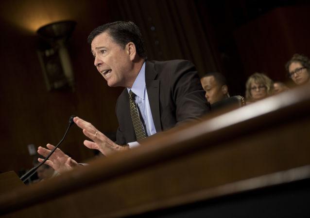 Bývalý ředitel FBI James Comey
