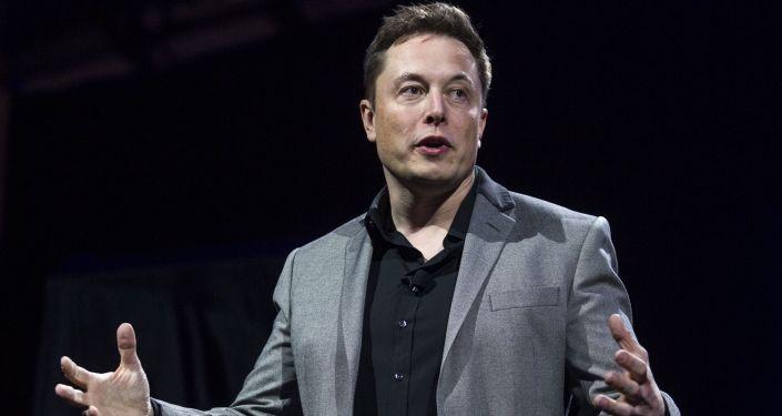 Zakladatel a ředitel Tesla Inc a SpaceX Elon Musk
