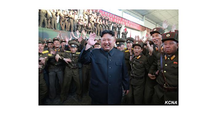 Zkouška nové severokorejské rakety Hwasong-12