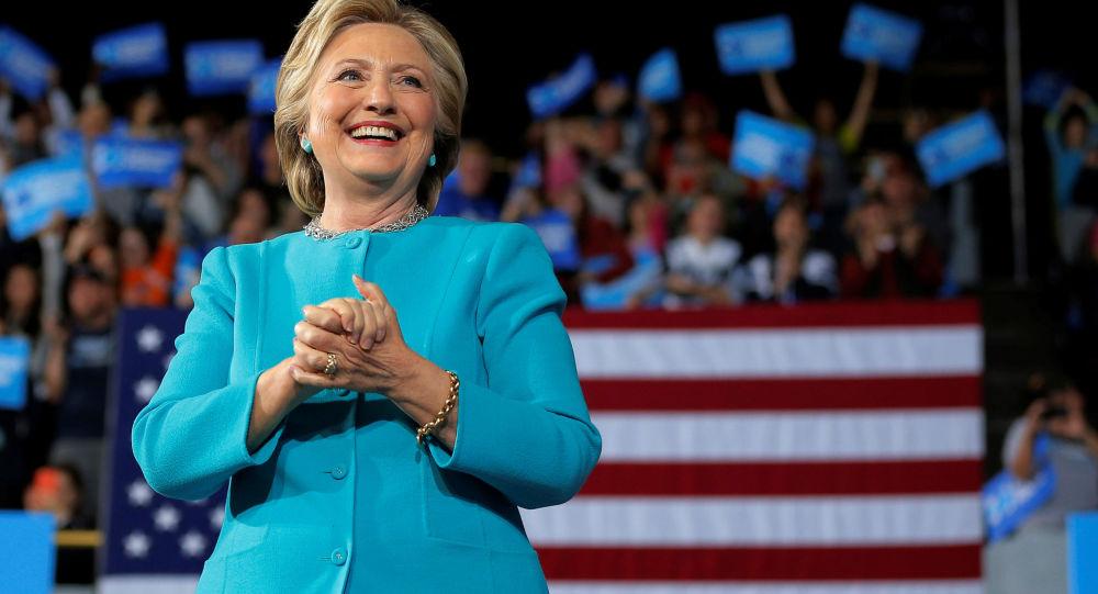 Bývalá kandidátka na prezidenta USA Hillary Clintonová