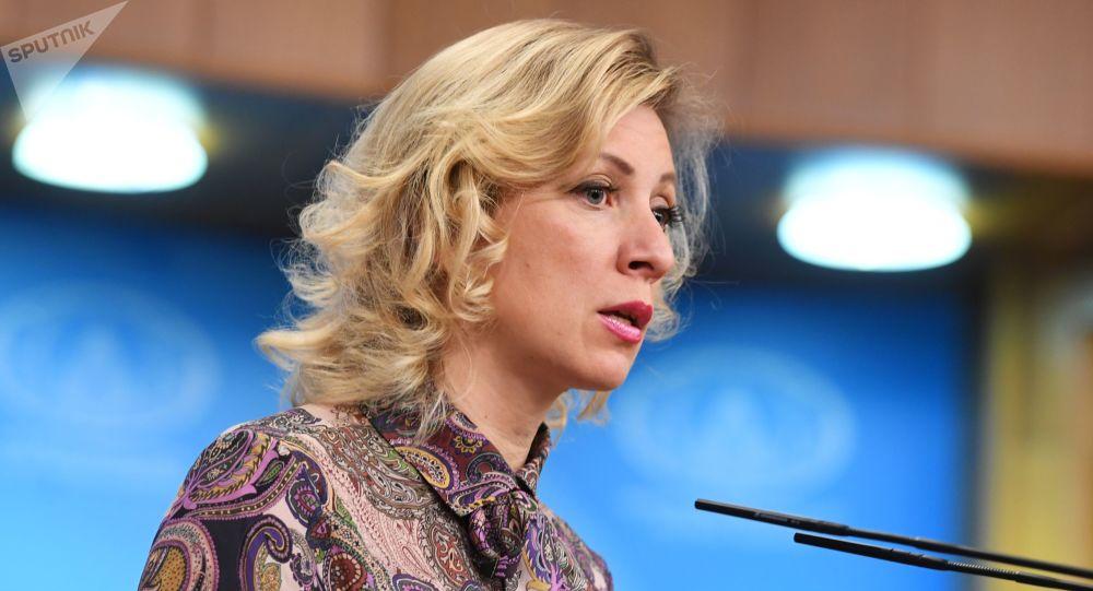 Oficiální mluvčí MZV Ruska Maria Zacharovová
