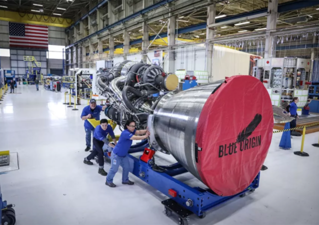 Motor BE-4 Blue Origin